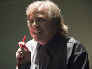 Mark Hamill as James Jesse in The Flash S01E17: 'Tricksters'