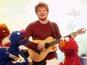 Ed Sheeran + Sesame Street = amazing