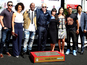 Diesel gets Hollywood handprint honour