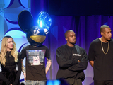 Madonna, Kanye West, Jay Z, Deadmau5 at TIDAL event