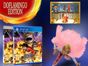The 'Doflamingo Edition' includes the game and a Doflamingo sculpture figurine.