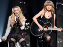 Swift took to the stage on guitar for a special collaboration at the iHeartRadio Music Awards.