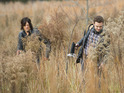 Norman Reedus as Daryl Dixon and Ross Marquand as Aaron in The Walking Dead S05E16: 'Conquer'