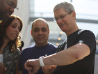 Apple boss Tim Cook says firm is 'thrilled' by latest iPhone sales figures