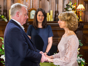 Suddenly consumed with guilt will Gail feel able to say I do to Michael
