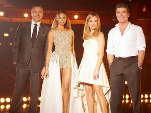 The Britain's Got Talent judges: David Walliams, Alesha Dixon, Amanda Holden & Simon Cowell