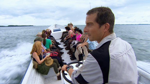 Digital Spy Bear Grylls The Island