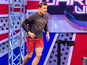 Ben Shephard takes on Ninja Warrior course