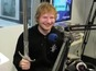 See Ed Sheeran given Jon Snow's sword