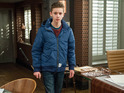Jacob angrily breaks into Home Farm in Friday's episode.