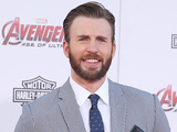 Chris Evans arriving at the Avengers: Age of Ultron premiere