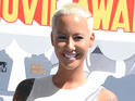 Amber Rose at the 2015 MTV Movie Awards