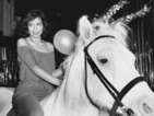 "Bianca Jagger denies riding into Studio 54 nightclub on a horse: ""I find the insinuation offensive."""