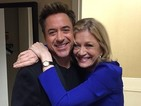 Robert Downey Jr turns to Diane Sawyer for 'corrective experience' after C4 walkout