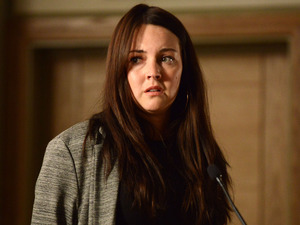 Stacey feels under pressure when she is questioned.