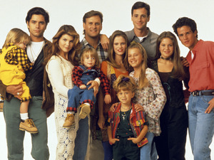 The cast of Full House in 1993