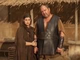 Jemima Rooper & Mark Addy in Atlantis S02E09