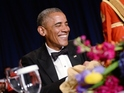 Barrack Obama addresses White House Correspondents Dinner