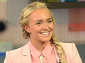 Hayden Panettiere on Good Morning America