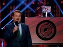 Mark Ronson tries to help James Corden embrace his inner 'Uptown Funk'.