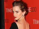 The actress was being honored by TIME for her HeForShe gender equality campaign.