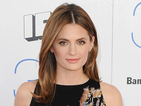 Castle star Stana Katic gets married in a Croatian monastery