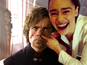 Internet has fun with Emilia Clarke laughing meme