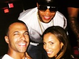 Marvin Humes, Flo Rida and Rochelle Humes