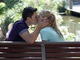 Josh and Danni kiss
