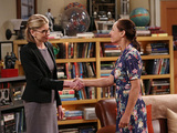 Christine Baranski & Laurie Metcalf in The Big Bang Theory S08E23: 'The Maternal Combustion'