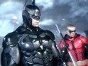 Video shows Batman and Nightwing teaming up to take on Penguin's thugs.