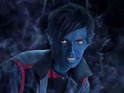 Bamf! Kodi Smit-McPhee's blue-skinned X-Men: Apocalypse mutant teleports in.