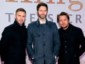 "Gary Barlow, Howard Donald and Mark Owen say their tax affairs are ""up to date""."