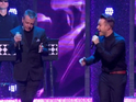 Olly Murs and Madness sing 'It Must Be Love' together.