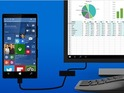 You'll be able to hook your Windows Phone up to a larger screen and use it like a normal PC.
