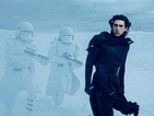 Adam Driver, Gwendoline Christie and Lupita Nyong'o in Star Wars: Force Awakens photos