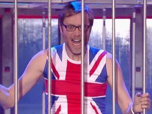 Stephen Merchant in a Lip Sync Battle on Spike TV
