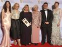 Steven Moffatt and Amanda Abbington accepted the award at London's Theatre Royal.