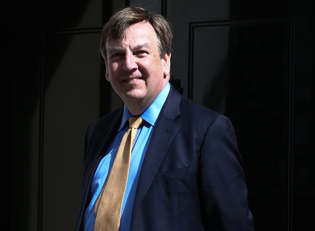 John Whittingdale arrives at Downing Street