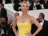 Charlize Theron attends the premiere of Mad Max: Fury Road at Cannes Film Festival