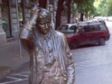 There is a reason why Peter Falk's likeness can be found in the Hungarian capital.