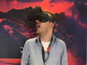 Virtual reality headset is winging its way to a select few developers.