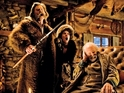 Kurt Russell, Jennifer Jason Leigh and Bruce Dern in The Hateful Eight