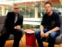 "Mark Kermode and Simon Mayo say ""hello!"" to Jason Isaacs on their new online film show."
