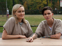 Taylor Schilling and Ruby Rose in Orange Is The New Black season 3