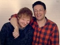 Ed Sheeran, Paul McCartney and Alesha Dixon also appear in the 'Food Revolution' song.