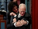 Howard Stern wants to say goodbye to late-night legend David Letterman... in a very intimate way!