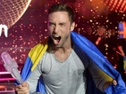 Måns Zelmerlöw's performance of 'Heroes' scored a mighty 365 points.