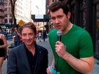 How much can Billy Eichner & Martin Short get New Yorkers to donate for Red Nose Day USA?