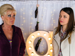 Tracy tells Liz everything